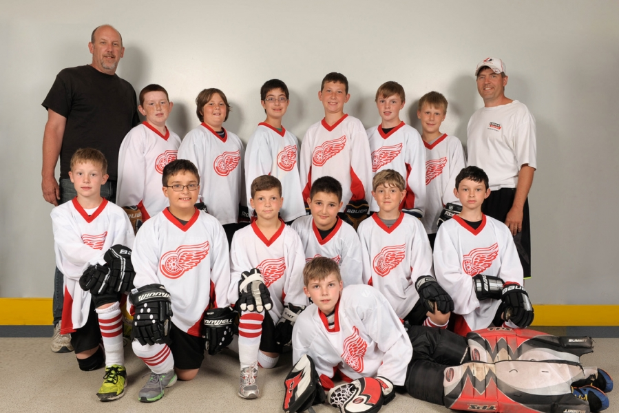 Novice-Atom - Red Wings